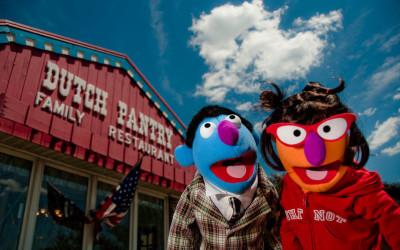 Silvia & Ben Muppets